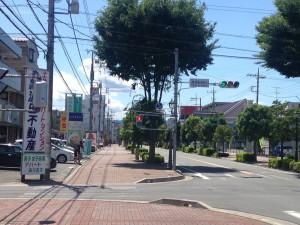 高坂駅西口交差点